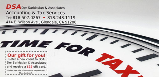 DSA Accounting and Tax Services